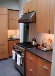 Nickel plated stove hood