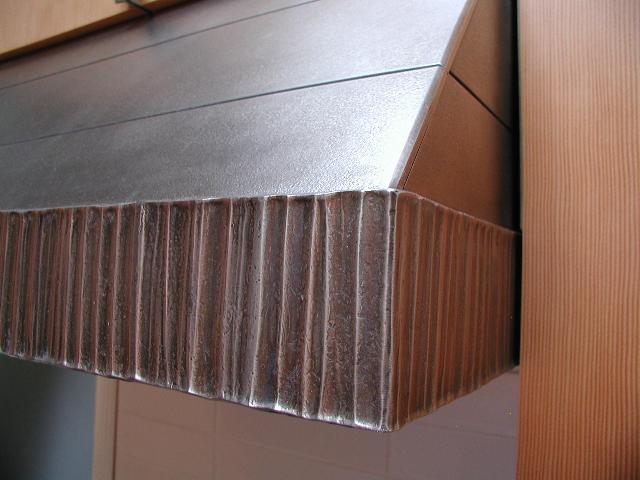 Stove hood detail
